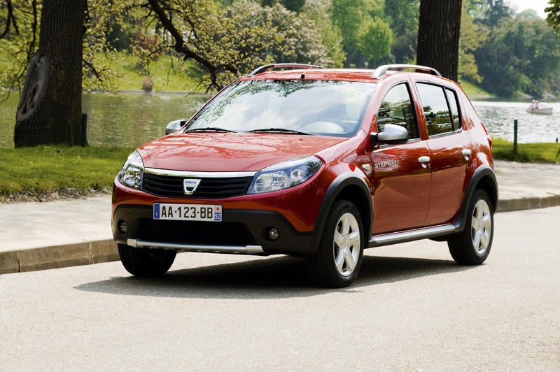 dacia sandero stepway l 39 aventure petit prix nouveaux mod les sur. Black Bedroom Furniture Sets. Home Design Ideas