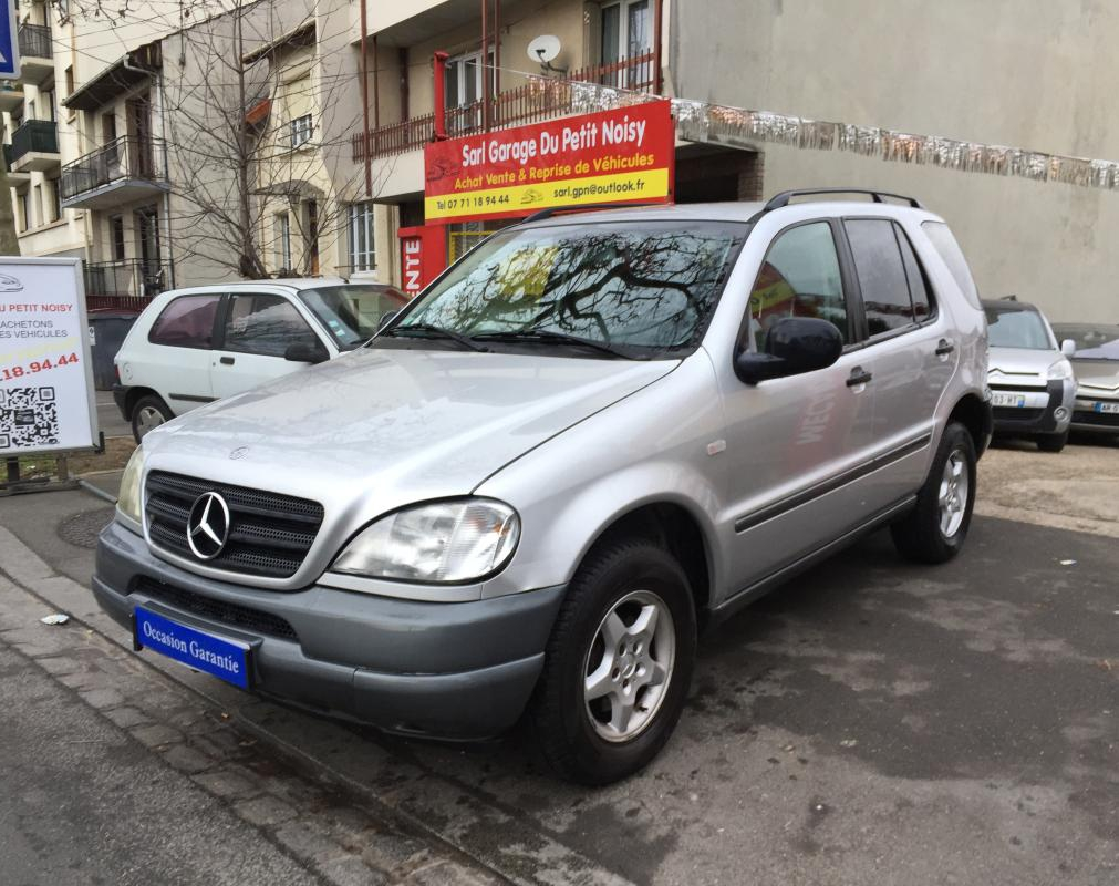 Voiture d 39 occasion mercedes classe ml 270 cdi bva luxury for Garage mercedes bondy