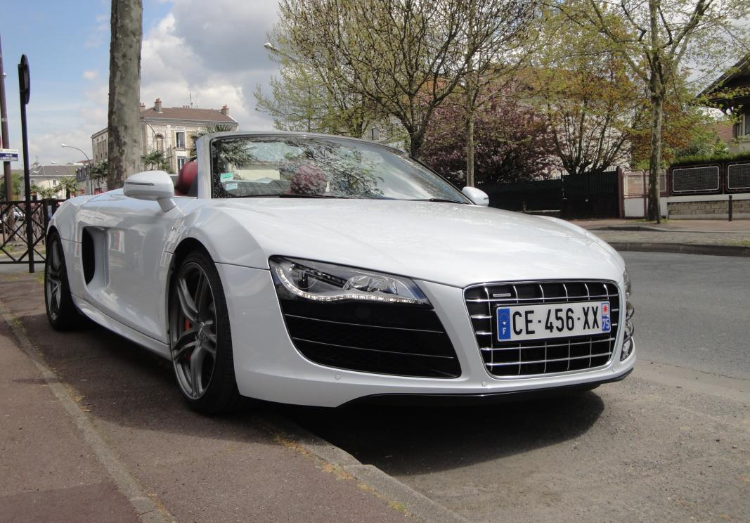 annonce Audi R8    spyder v10 525ch r-tronic occasion
