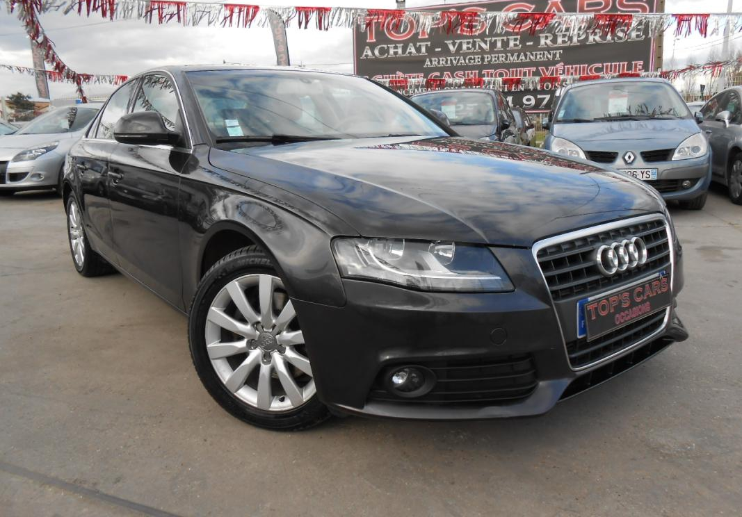 annonce Audi A4  phase iv 2.0 tdi 143 ambition luxe bva occasion