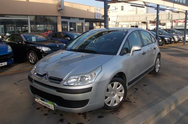annonce Citroen C4 1.6 16v pack ambiance occasion