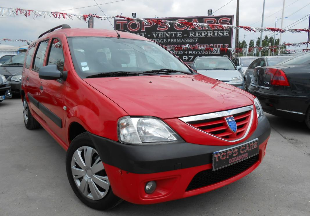 annonce Dacia Logan  mcv 1.5 dci 85 laureate occasion