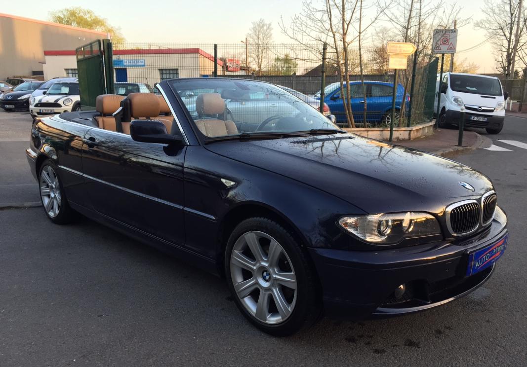 annonce BMW Serie 3  (e46) cabriolet 320ci occasion