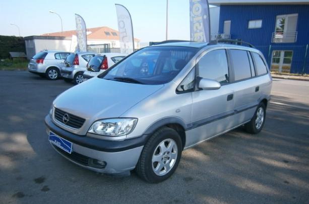 annonce Opel Zafira 1.6 16s confort 7pl occasion