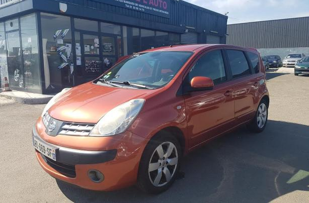 annonce Nissan Note 1.6 110 tekna occasion
