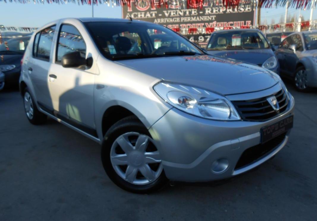 annonce Dacia Sandero 1.5 dci 70 ambiance occasion
