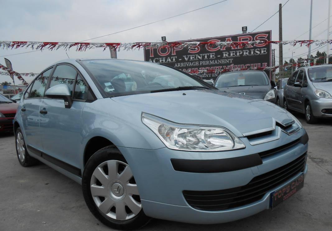annonce Citroen C4 1.6 hdi 92 pack clim occasion