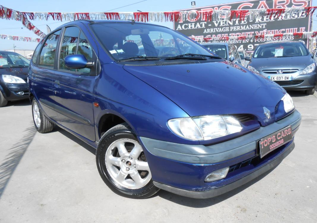 annonce Renault Scenic 1.9 dti 98 rxt clim  occasion