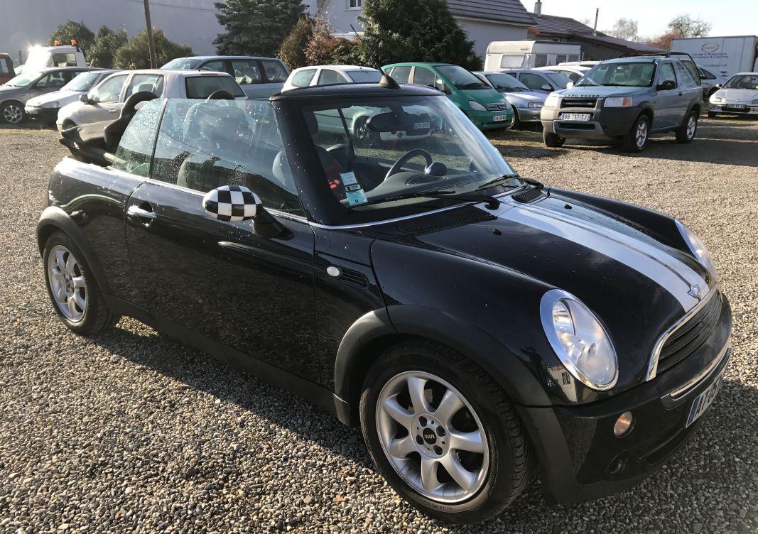 annonce Mini Mini cabriolet 1.6 i 90cv occasion