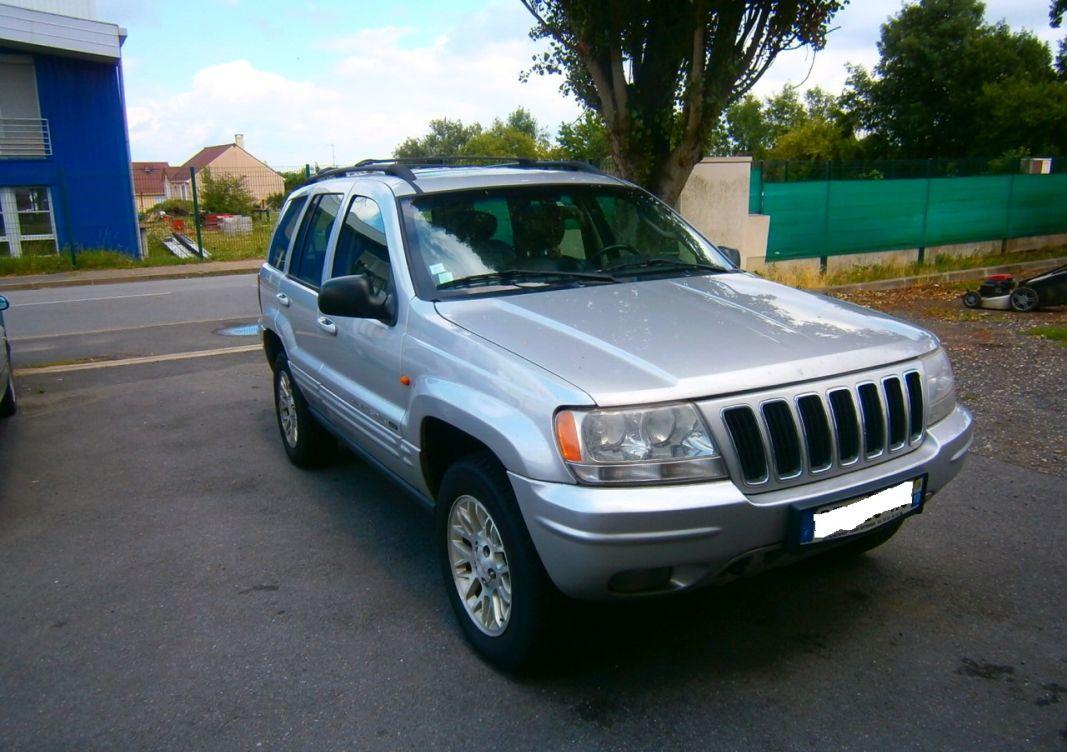 annonce Jeep Grand Cherokee  2.7 cdr 163 limited quadro-drive bva occasion
