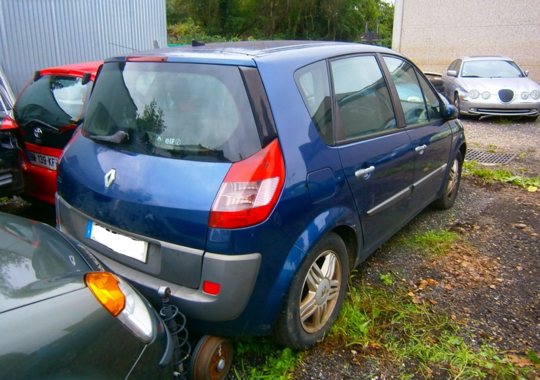 annonce Renault Scenic 1.9 dci 120 en panne occasion