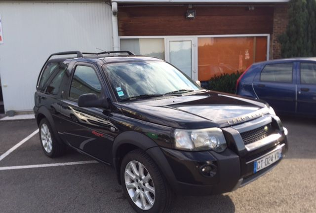 annonce Land Rover Freelander td4 toit ouvrant occasion