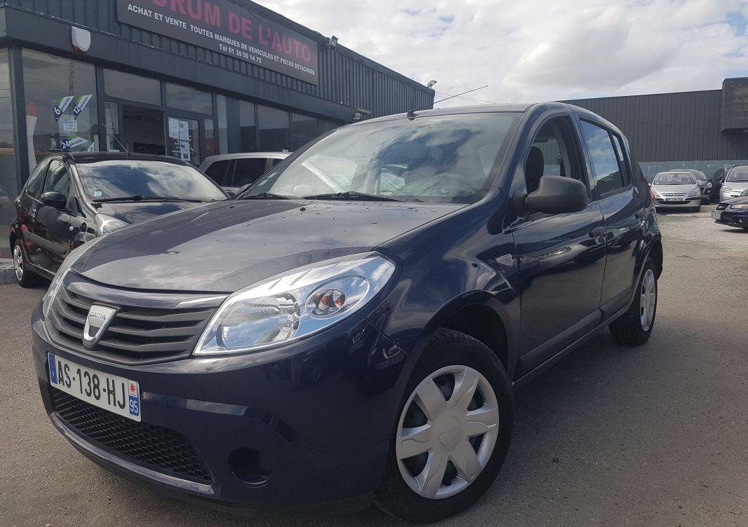 annonce Dacia Sandero 1.4 mpi 72 gpl ambiance occasion