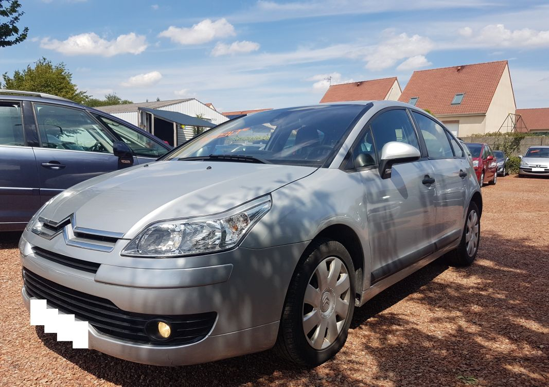 annonce Citroen C4 1.6 hdi 110 cv pack ambiance occasion