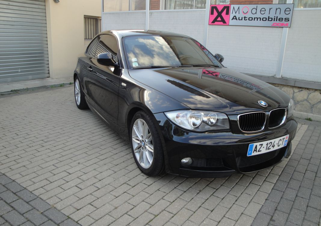 annonce BMW Serie 1  120d coupe sport design 177ch  occasion