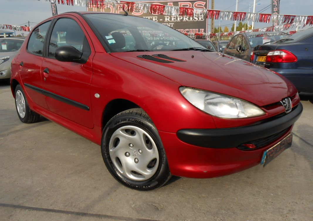 annonce Peugeot 206   1.4 xr 75 ch presence occasion