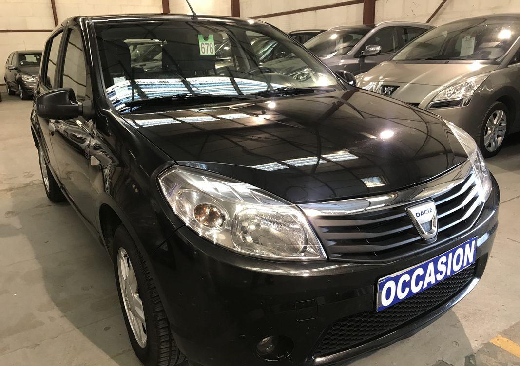Photo Dacia Sandero  1.4 mpi 72 gpl ambiance occasion