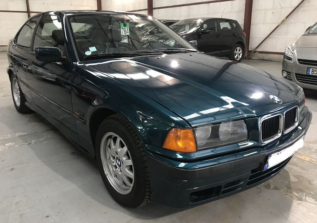 Photo BMW Serie 3 bva 316ia compact pack vip occasion