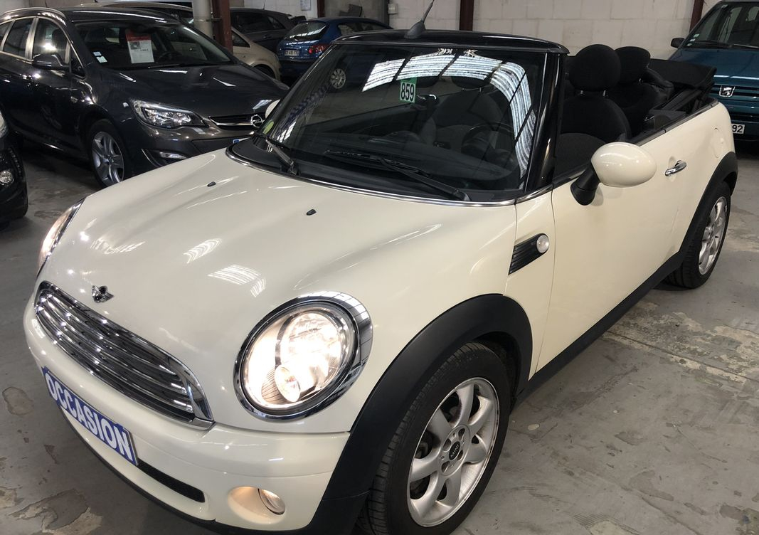 Photo Mini Cooper ii cabriolet 1.6 120 cooper chili occasion