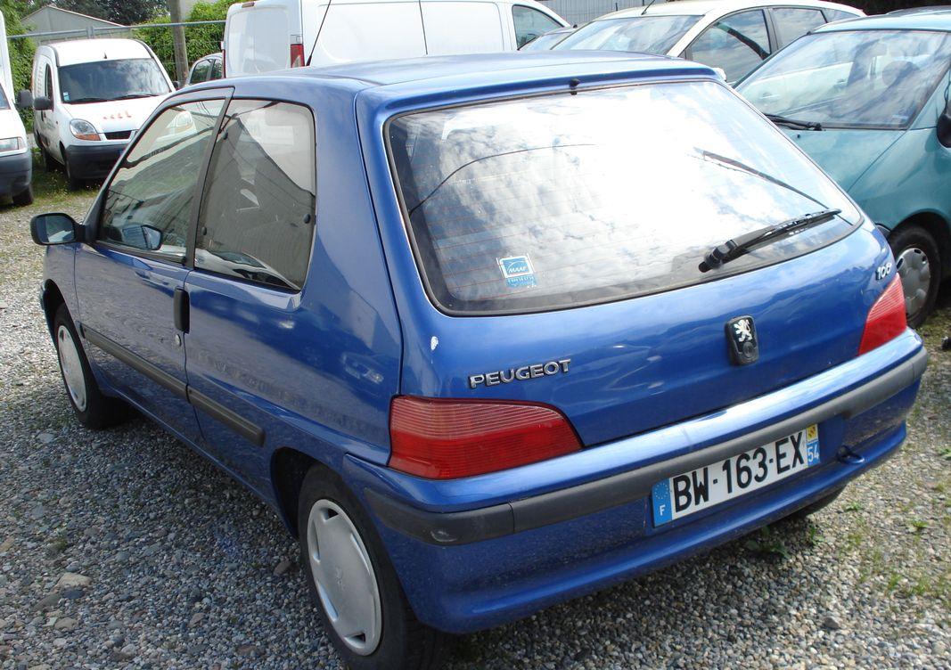 Photo Peugeot 106   phase 2 1.1 i 60 cv . occasion