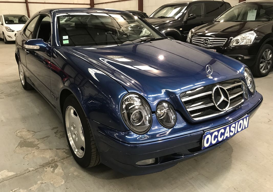 Photo Mercedes CLK 230 kompressor elegance bva boite hs occasion